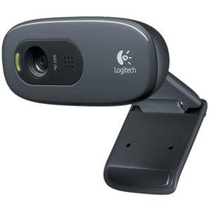 Logitech Nettikamera USB 2.0 3 MPixel 720p Musta