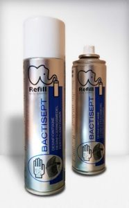 Bactisept käsien desinfiointiaine Refill aerosoli